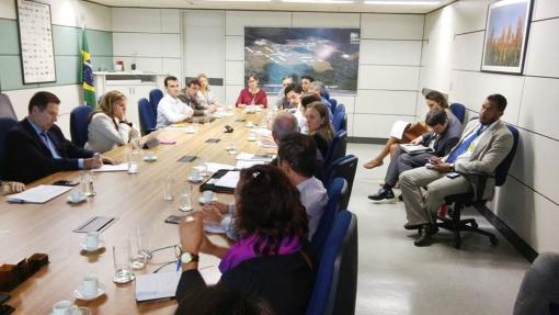 Interação entre representantes da cadeia produtiva e servidores do MAPA